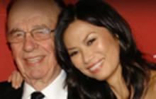 Murdoch splits with wife, splits up company