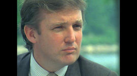 A look back at Donald Trump's debut