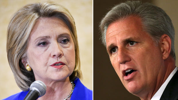 OOPS: Likely House Speaker Praises Benghazi Committee For Hurting Hillary Clinton Politically