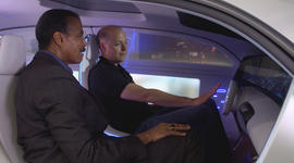 Inside the self-driving car of the future