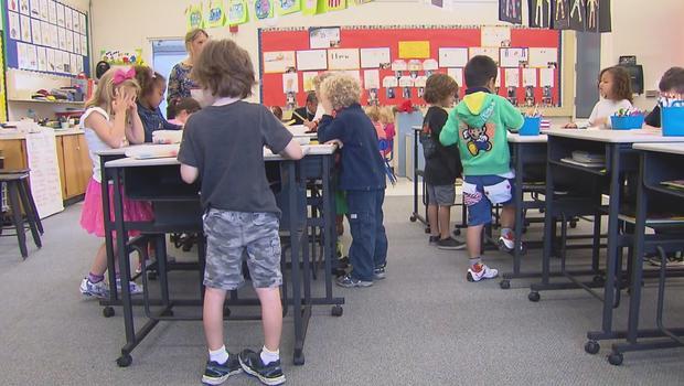 Vallecito Elementary School In Northern California Brings