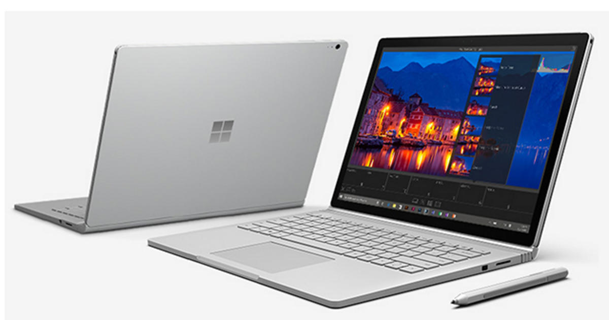 Microsoft's first-ever laptop rewrites the rules - CBS News