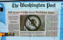 "Headlines: NFL official to meet with Native American group about use of ""Redskins"" name"