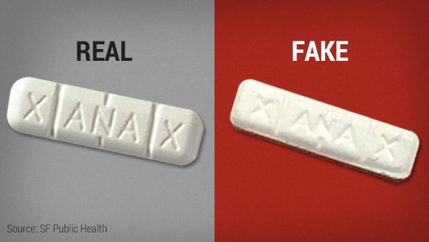Fake Xanax b... Xanax