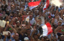 Protesters on both sides in Egypt blame U.S.