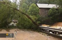 North Carolina floods leave two dead