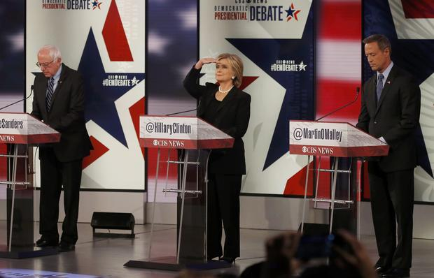 Democratic debate in Iowa - Democratic presidential candidates square ...