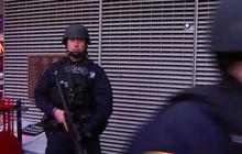 Paris terror suspect remains at large
