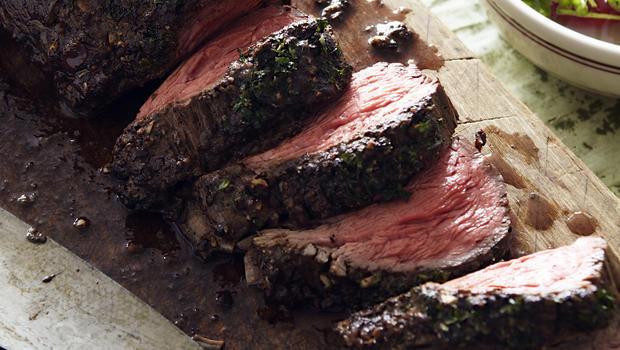 cream roast beef tenderloin with caesar crust recept yummly roast beef ...