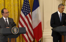 Hollande and Obama address ISIS threat