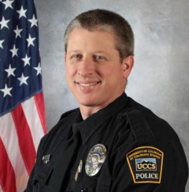 科罗拉多大学警官Garrett Swasey