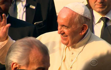 Pope Francis in midst of final stop on Africa trip