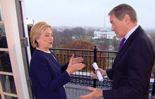 Clinton on Wall Street connections, why she's running for president