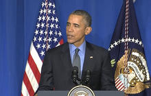 Obama stresses climate change threat in Paris
