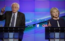 Democrats clash in debate and over data breach