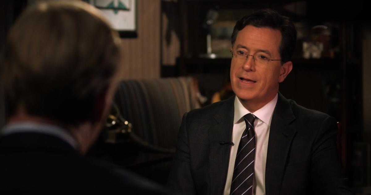 Stephen Colbert on Trump s first     days  He s  done a lot for me     IndieWire