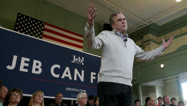 Jeb Bush challenges Donald Trump to a one-on-one debate