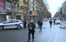 Would-be attacker carrying paper with ISIS flag killed by Paris police