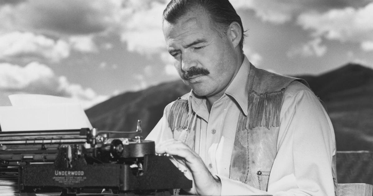 ernest hemmingway Etchum, idaho, july 2--ernest hemingway was found dead of a shotgun wound in  the head at his home here today his wife, mary, said that he had killed himself.