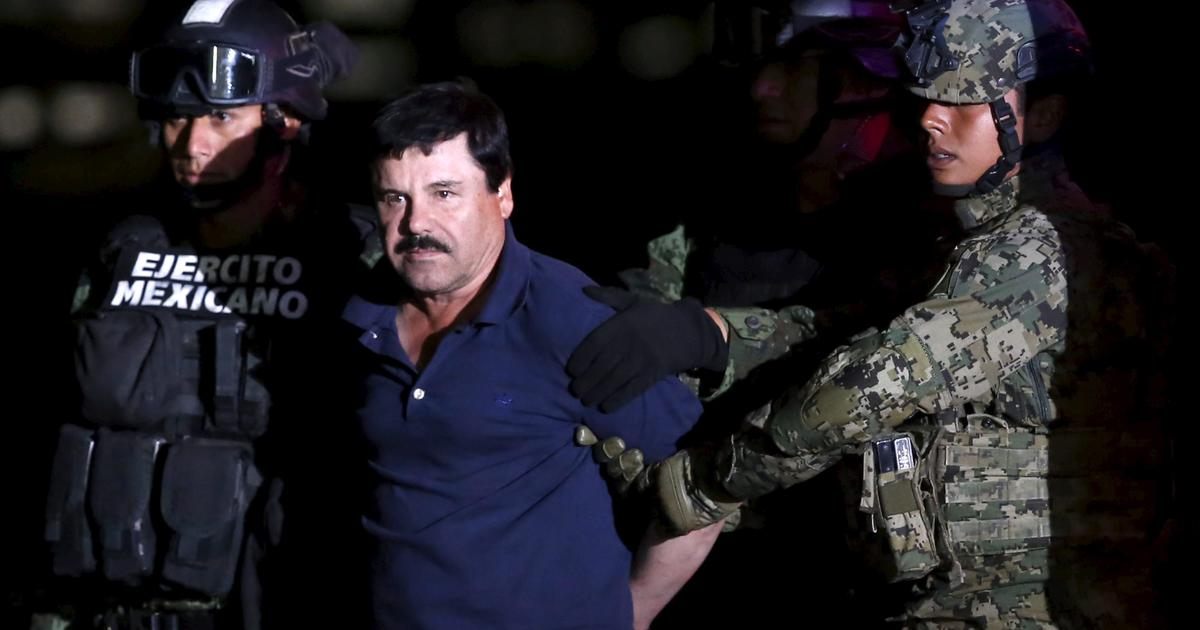 "Mexicans make new security change for ""El Chapo"" - CBS News"