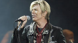 David Bowie on performing