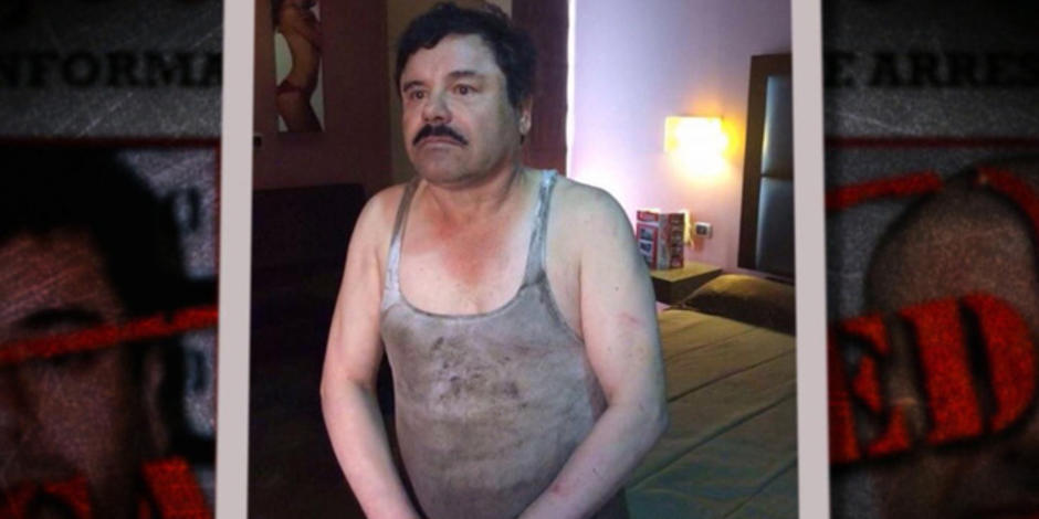 El Chapo captured after meeting with actor Sean Penn