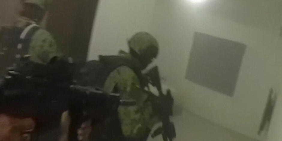 Video shows deadly gunfight before El Chapos capture