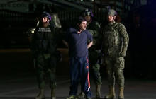 "Dramatic video of raid that captured ""El Chapo"""