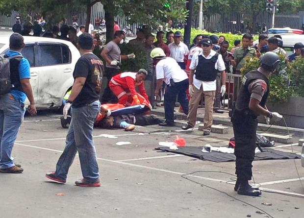 Deadly attacks in Jakarta