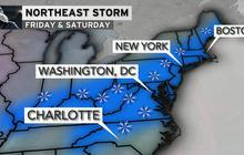 Major snowstorm could strike Eastern U.S.