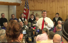Ahead of snowstorm, Chris Christie to New Hampshire: I'll be back