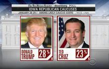 Cruz and Trump showdown down to the wire in Iowa