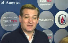 "Ted Cruz unplugged; says Trump is ""losing it"""