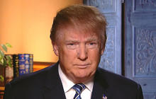 Donald Trump on N.H. primary battle, clashing with Jeb Bush