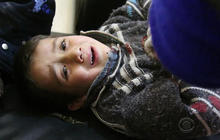 Airstrikes in Syria take down schools, hospitals
