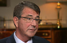 """Ash Carter: Russia's help for Assad will """"come back and get them"""""""