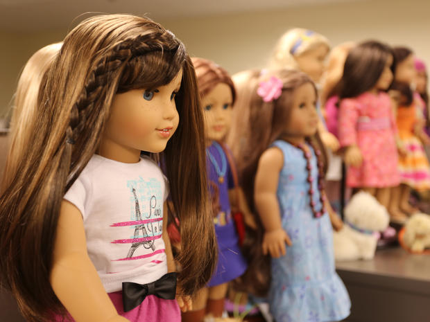 Melody ellison a new american girl doll debuts pictures cbs news