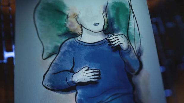 这是一位艺术家的作品,他们看过Cory Lovelace的照片