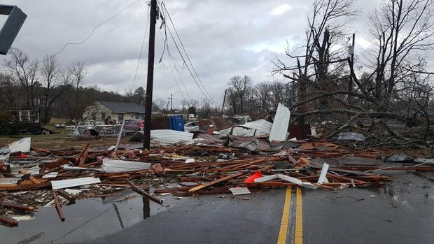Severe Weather Severe Weather In The South Pictures