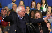 Super Tuesday 2016 highlights: Bernie Sanders' victory speech in Vermont