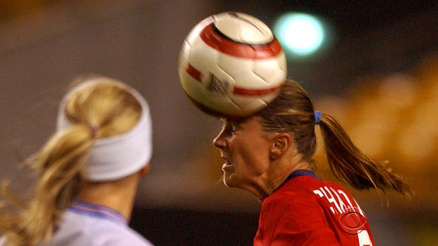 Brandi chastain soccer ball with you