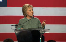 Full Video: Hillary Clinton addresses supporters after winning Louisiana