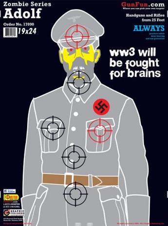 Shooting Range Orlando >> Dracula - Zombies, Nazis and Jar Jar Binks: Novelty shooting range targets - Pictures - CBS News