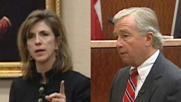 律师Kelly Siegler和Dick DeGuerin