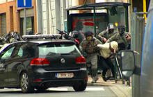 Paris attacker captured in Belgium