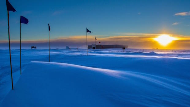 Antarctica will be dark for the next 6 months