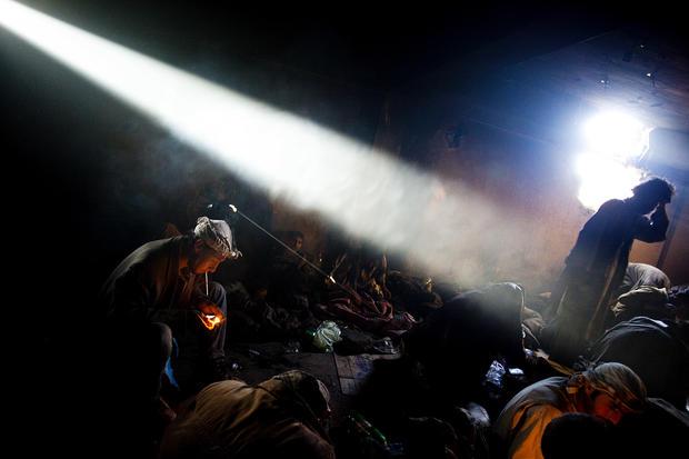 From war zones to sharks: The versatile work of photographer Ben Lowy