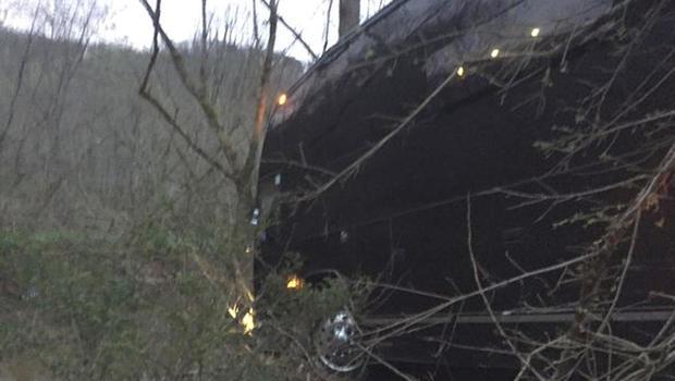 Gregg Allman Tour Bush Crash