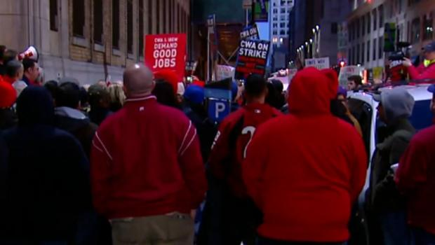 Nearly 40,000 Verizon workers go on strike amid contract dispute