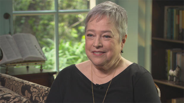 Kathy Bates on her bra...